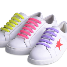 promotional gift cool shoe lacesno tie convenient shoelaces sports wholesale
