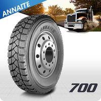 Hot sale chinese top 5 brand ANNAITE TBR Tyre manufacturer with 5% off price