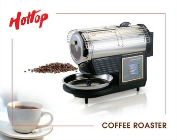 Small fully programmable coffee shop equipment coffee roaster