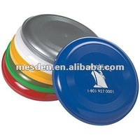 Promotional 9 inch Plastic Frisbee with logo