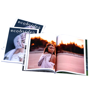 custom color books cheap high quality fashion sports magazine printing service