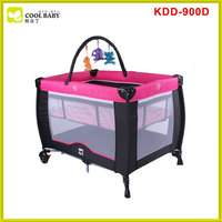 New model design Baby Play Yard With Certificate Baby Bed Baby Playpen