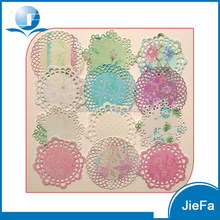 Food Grade Paper Of Colored Paper Doilies