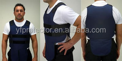 Tactical Concealable Bullet Proof Vest with Side Protection