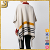New Arrival fashion women knitted poncho sweaters, wool knitted poncho