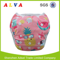 ALVABABY Fruits Pattern Baby Boy Swimsuit Reusable Swim Diapers Swimming Trunks