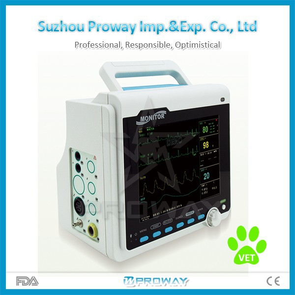 PPM-CT6000V Portable Veterinary Patient Monitor with Multi Parameter
