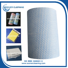[soonerclean] Raw Material Spunlace Cleaning Wipes Nonwoven Fabric