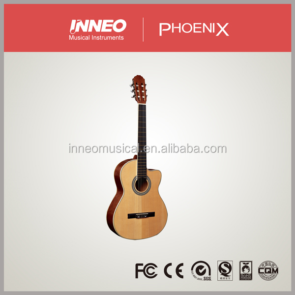 High quality beginner concert classical guitar price OEM
