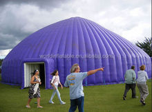 Newly Custom double layers PVC inflatable pole tent