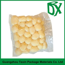 Manufacturer china clear plastic seal sied food packaging nylon bag for soybean