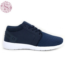 Air Permeable Dark Blue Cotton Fabric Shoes Stocklot