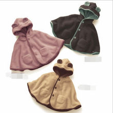 D22708Q 2014 NEW DESIGNS EUROPE FASHION THICKEN KEEP WARM LOVELY BABYS CLOAK/CAPE