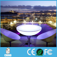 Waterpoof New illuminated led portable LED Chair and Table
