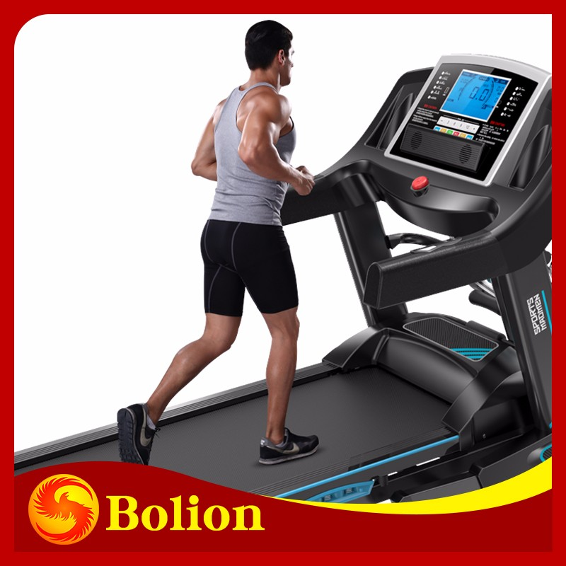 2.0 hp dc motor 400mm body building commercial elliptical cross trainers treadmill cheap used running machine//