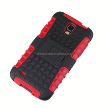 Direct factory price pc silicon for samsung galaxy s4 active i9252 hybrid hard case for samsung
