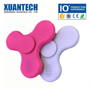 Hot selling bluetooth and rechargeable hand spiner, spinning toy, fidget ring