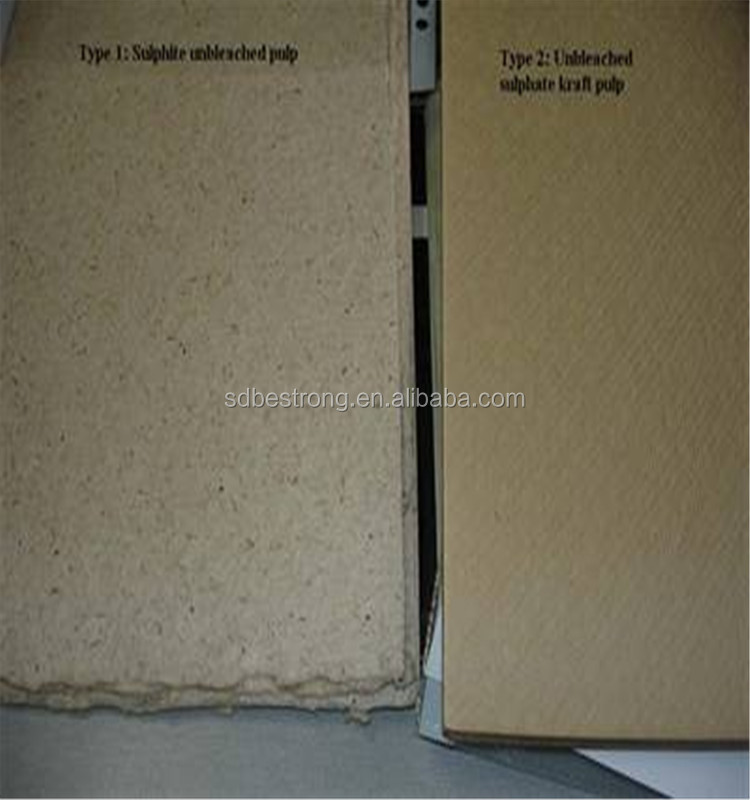 unbleaching softwood Kraft Pulp for making packing paper