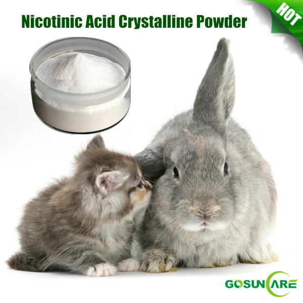 High Quality Feed Grade Vitamin B3/ Nicotinic Acid Crystalline Powder