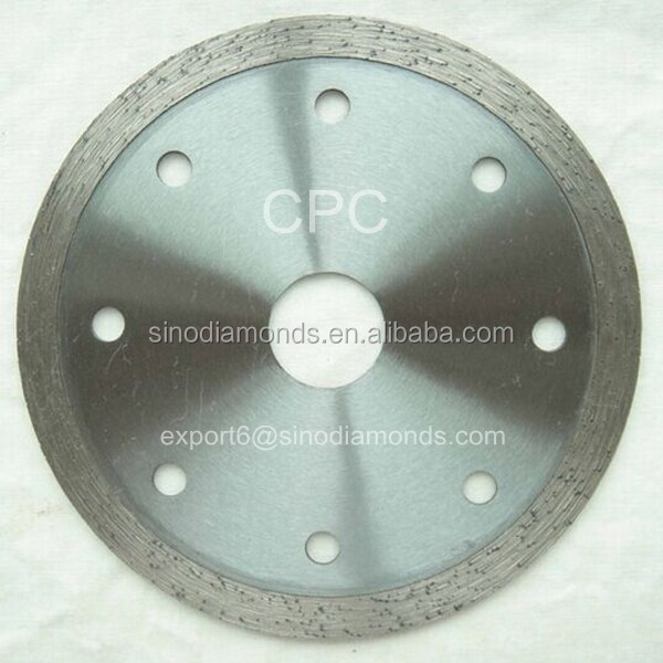 Sintered Diamond Cutting Saw Blades for Granite Marble Tiles