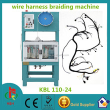 The most popular 24 spindle wiring harness braiding machinery used for car and truck s