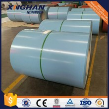 Prepainted GI steel coil PPGL color coated galvanized corrugated sheet in coil