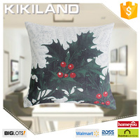Luxury festival cushion cover fabric Christmas tree pattern cushion cover wholesale