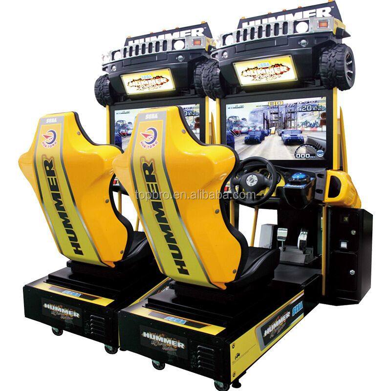 adult game machine racing car video games