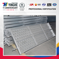 factory supply harmonics flooring steel planks for scaffolding