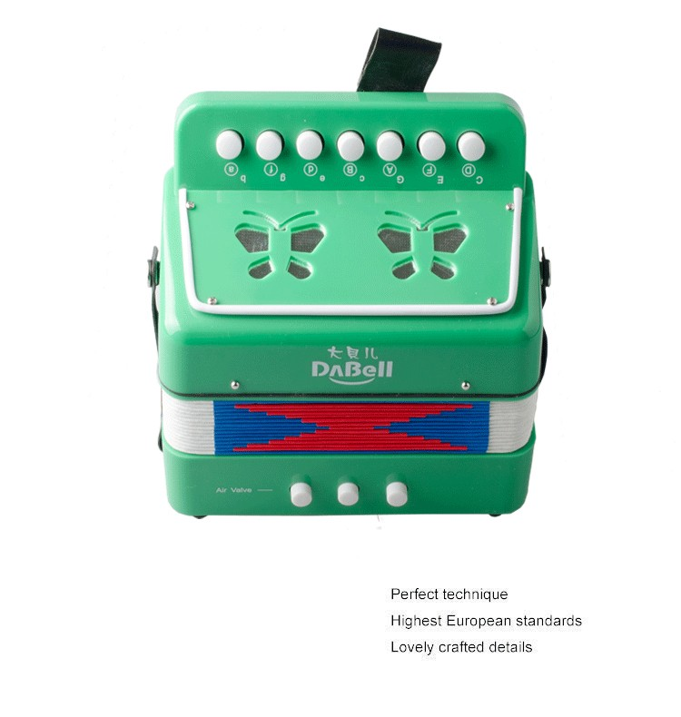 Hot selling modern gree toy accordion for children/childrens accordion