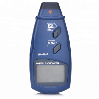 Digital Laser Photo Tachometer LCD Display Auto Range Non-Contact RPM Meter Tool BJ-6234E