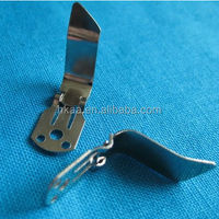 small metal clip, metal blank shoe clip, flat metal clips