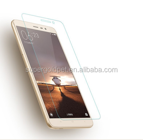 Free sample! anti-shock anti-blue light cell phone screen protector for xiao note 3 welcome oem
