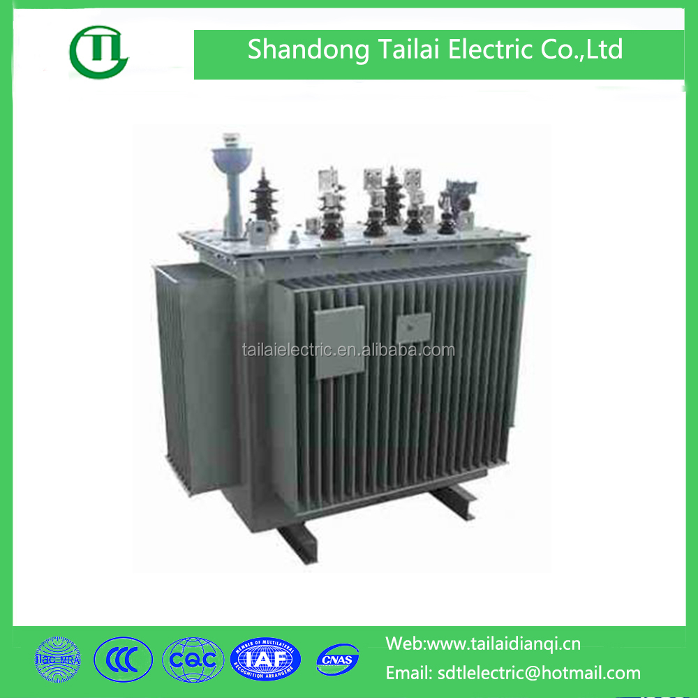 Three phase oil immersed 33kv electric transformer electrical equipment