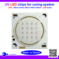 365nm Round 20w UV LED With CE&ROHS Compliant