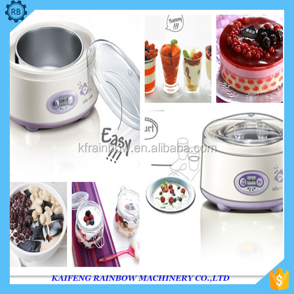 Stainless Steel Factory Price Fruit Yogurt Make Machine ice cream and yogurt making machine for home or commercial use
