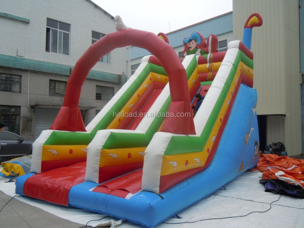 China top quality commercial use inflatable slides for adults and kids for fun
