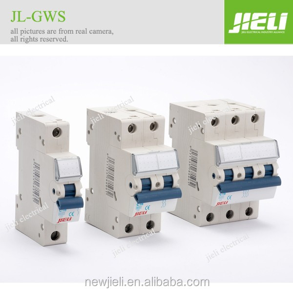 Professional manufacture 230V/440V 1p 2p 3p 4p electric circuit breaker with competitive price