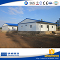 China supplier ISO standard prefabricated house, Made in China panelized house for site office, Steel structure building
