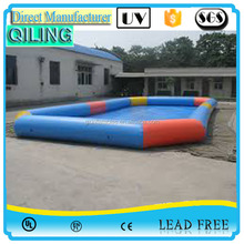 2016 High quality durable pvc ground removable square adult n kids inflatable swimming pool all size for sale