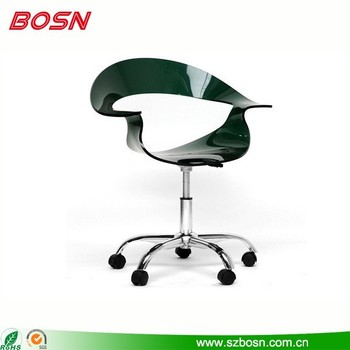 Modern Design Acrylic Plastic PMMA Swivel Chair
