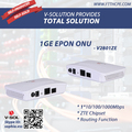 1*1000Mbps Data Port EPON ONU Routing Feature GEPON Terminal Box FTTH Solution Support Port Rate Limiting
