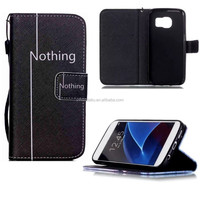 For Samsung Case Photo Frame Flip Leather Stand phone Case for Samsung Alcatel cell phone