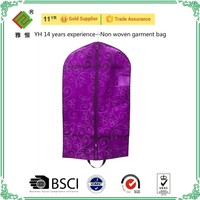 Garment Bags /suit cover zipper pocket