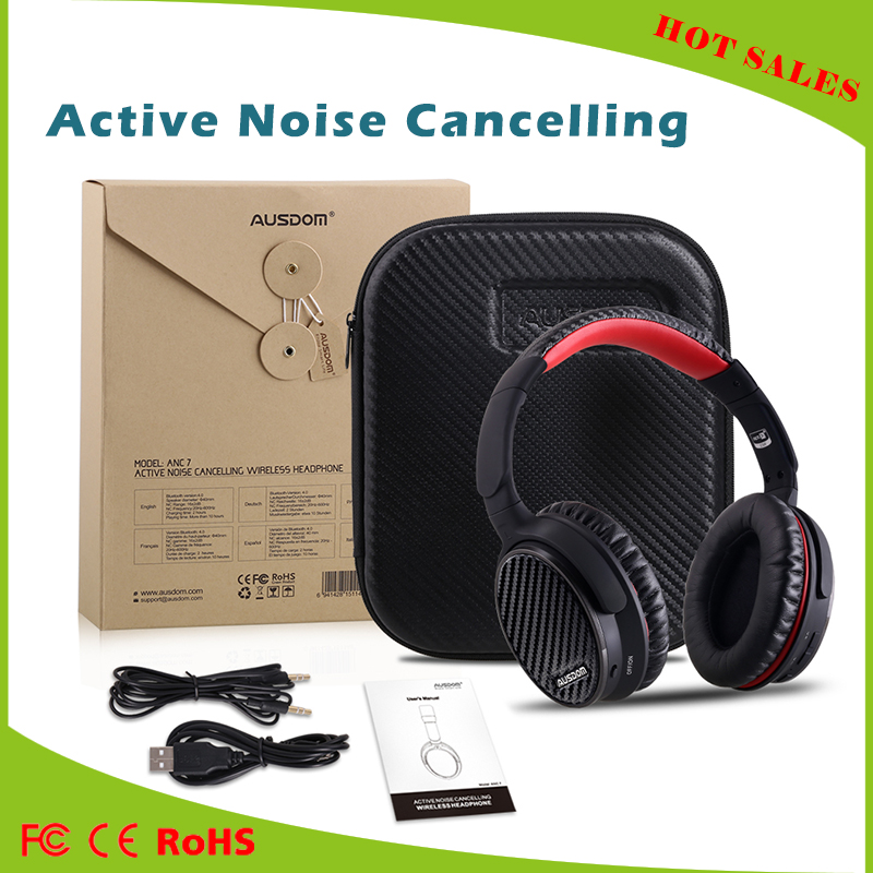 New Design Cheap Sport Wireless Headphone headset active noise cancelling