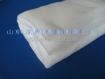 100% polyester padding &polyester staple fibre