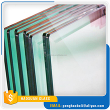 Bathroom window clear tempered glass