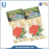Professional bulk car paper air fresheners with CE certificate