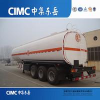 2016 New fuel tanker, 4000L-6000L oil fuel tanker semi trailer