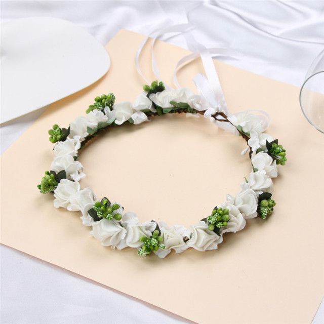 supplies wholesale flower head grapevine wreath